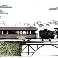 Un train passe dans la campagne : Henri énumère ses nouveaux amis