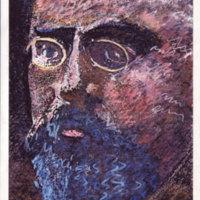 Portrait de Henri Poincaré vers 1890 - pastel