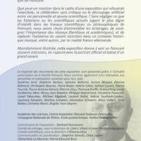 Panneau 0 : Henri Poincaré, du mathématicien au philosophe