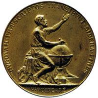 Médaille du roi de Suède de 1889