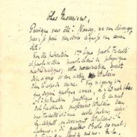 Lettre de Liard à Poincaré en 1886