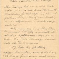 Courrier de Hilbert à Poincaré en 1908